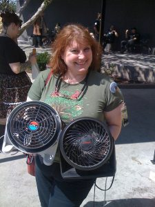 Stacie with her Biggest Fans